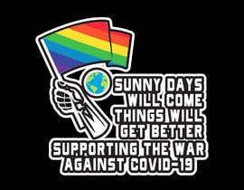 #259 для COVID-19 T Shirt, Hoodie, Cap & Laptop Sticker Design от dreamquality