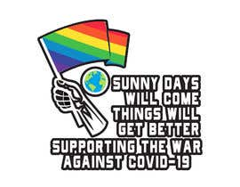 #260 для COVID-19 T Shirt, Hoodie, Cap & Laptop Sticker Design от dreamquality