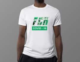#13 for COVID TSHIRT DESIGN by kirteshIndia