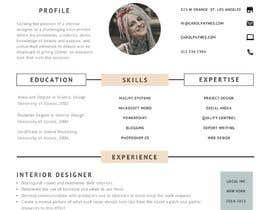 #11 для Resume Template in words. format от zeeshanftr