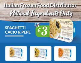 #41 для Design an A1 size banner for Italian Frozen Company от mbohdarmo
