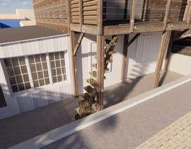 #52 для Design a wooden staircase от radityanas