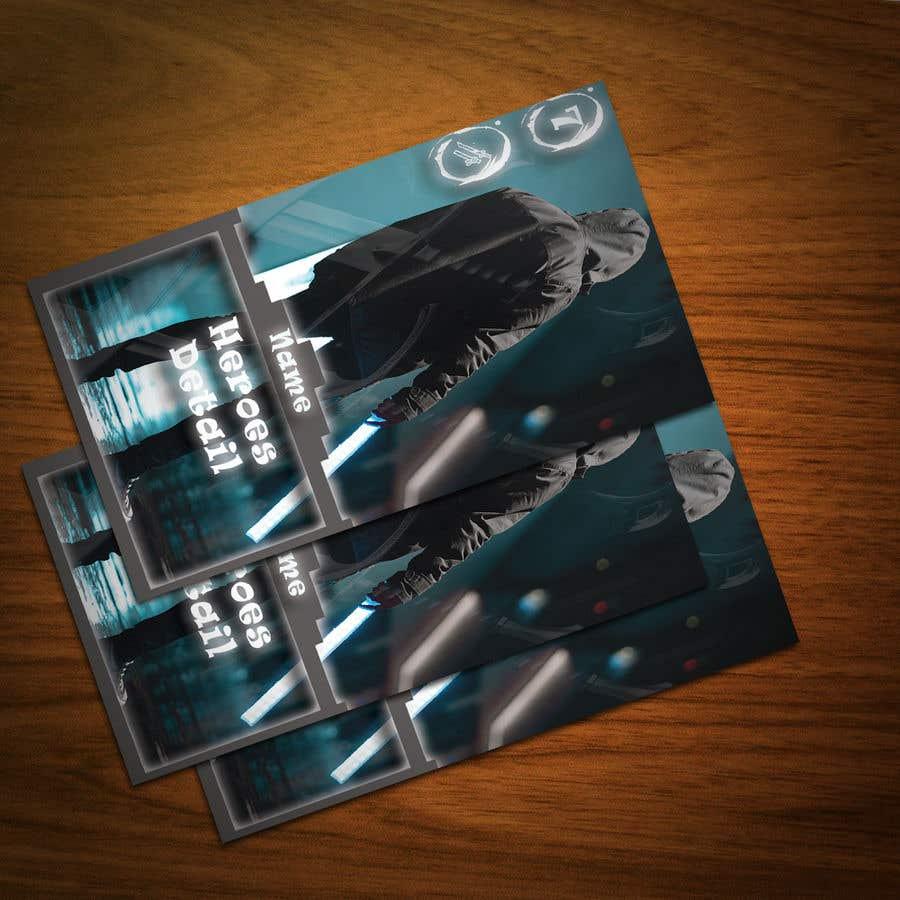 Penyertaan Peraduan #                                        16                                      untuk                                         Trading Card Game Template Design. Possible Multiple Winners.