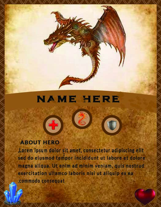 Konkurrenceindlæg #                                        26                                      for                                         Trading Card Game Template Design. Possible Multiple Winners.