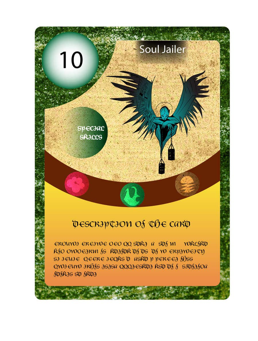 Konkurrenceindlæg #                                        38                                      for                                         Trading Card Game Template Design. Possible Multiple Winners.