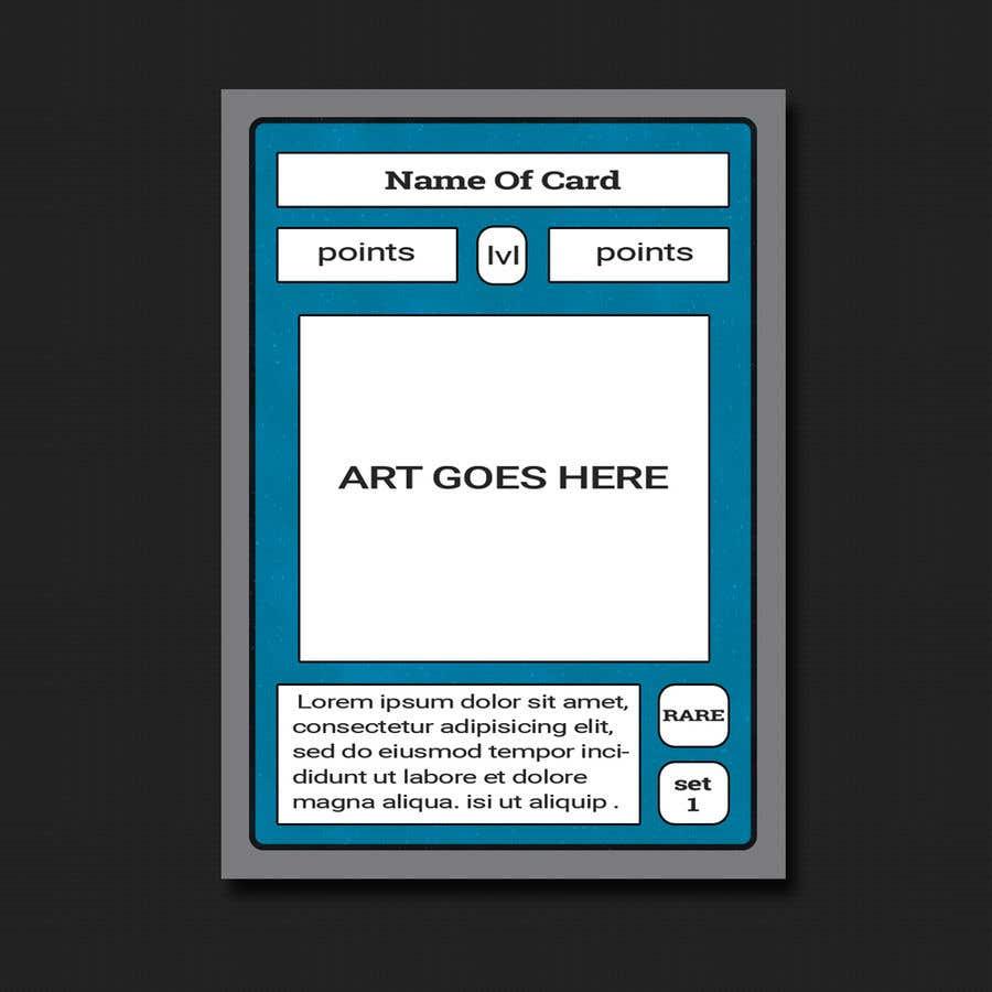 Penyertaan Peraduan #                                        7                                      untuk                                         Trading Card Game Template Design. Possible Multiple Winners.