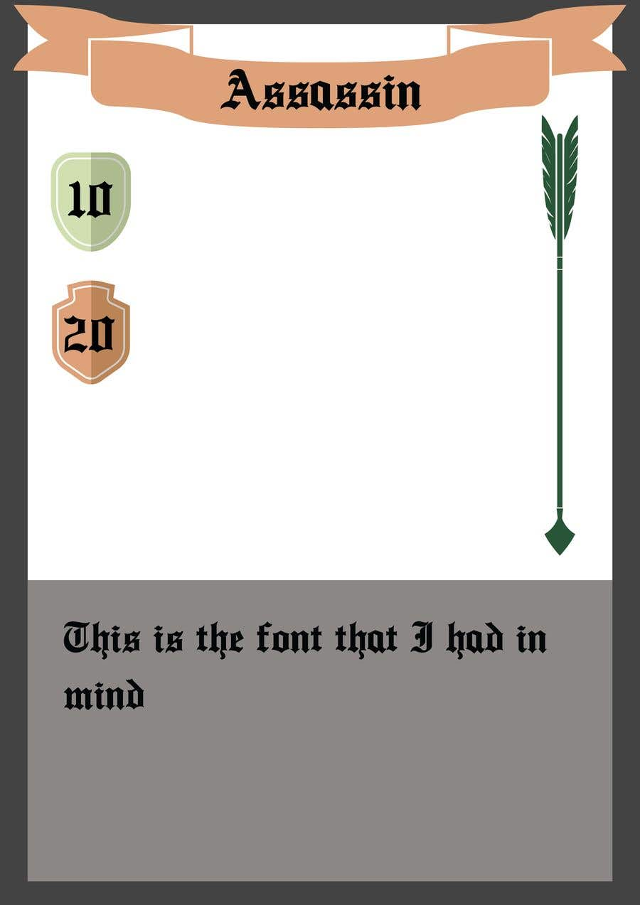 Penyertaan Peraduan #                                        13                                      untuk                                         Trading Card Game Template Design. Possible Multiple Winners.