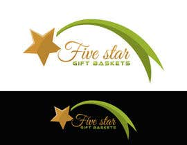 "nº 73 pour Design a Logo for ""Five Star Gift Baskets"" par cbarberiu"