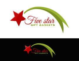 "nº 74 pour Design a Logo for ""Five Star Gift Baskets"" par cbarberiu"