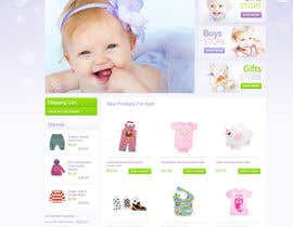 #26 for Home Page for Childrens Clothing Brand - PSD artwork only af lookinto