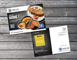 #137 for Direct mail (post card) design for home delivery service by shahinalam96