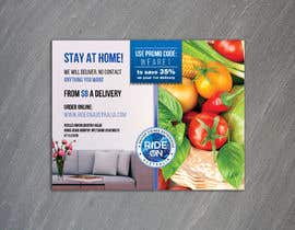 #136 for Direct mail (post card) design for home delivery service by gkhaus