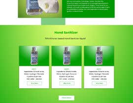 #59 for Design a website for a cosmetics brand selling hand sanitizer and masks by liakutalikhan