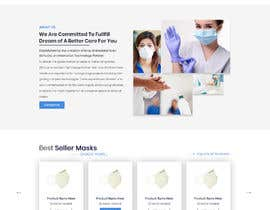 #28 for Design a website for a cosmetics brand selling hand sanitizer and masks by mithu2219146
