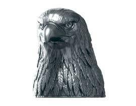 #5 for 3d silver eagle head by kvinke