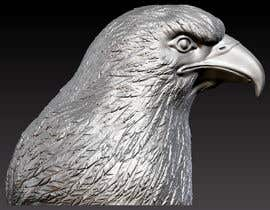 #9 for 3d silver eagle head by sharkfreelancer