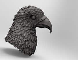 #3 for 3d silver eagle head by Ovijitkumar7