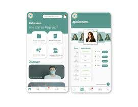 #50 for Graphic Design of Mobile App Screens by binaliasy