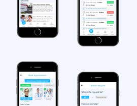 #145 for Graphic Design of Mobile App Screens by bharanikumars
