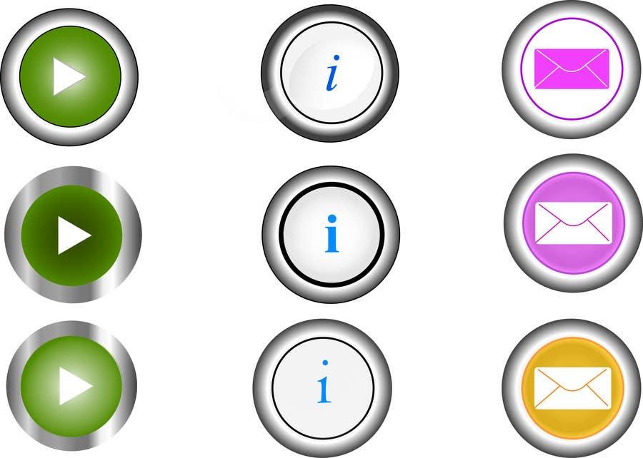 Bài tham dự cuộc thi #                                        21                                      cho                                         Icon or Button Design for Mobile Application