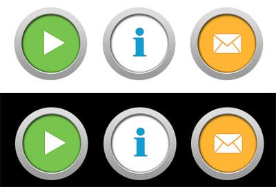 Bài tham dự cuộc thi #                                        17                                      cho                                         Icon or Button Design for Mobile Application