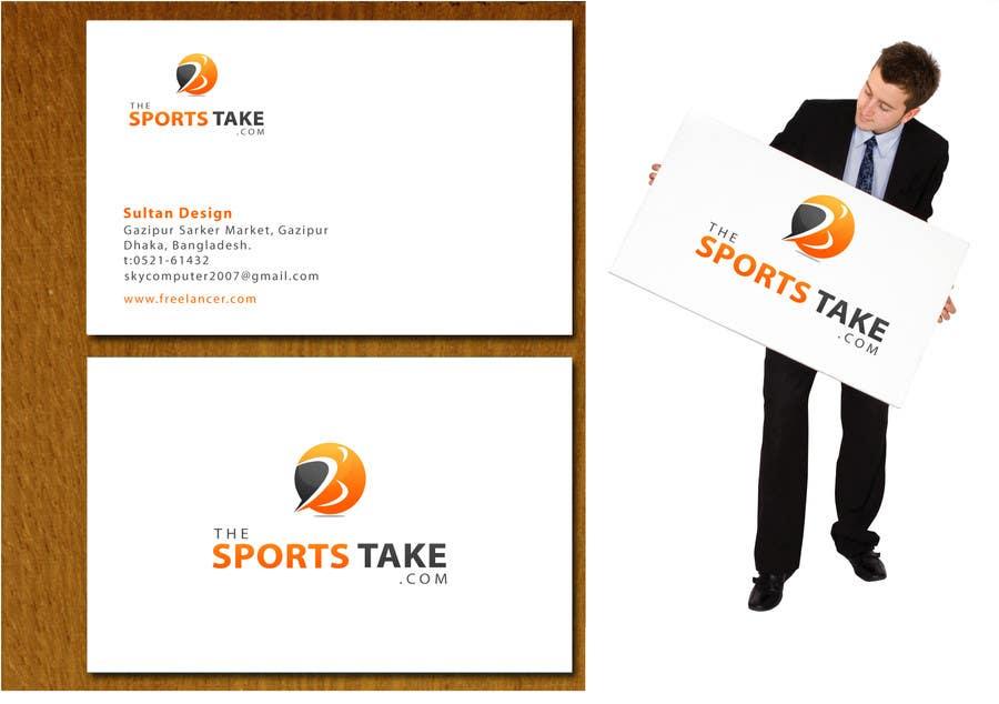 Inscrição nº                                         27                                      do Concurso para                                         Logo Design for TheSportsTake.com GUARANTEED PAYOUT