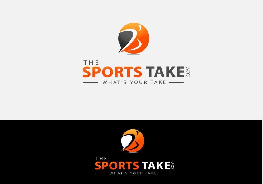Inscrição nº                                         84                                      do Concurso para                                         Logo Design for TheSportsTake.com GUARANTEED PAYOUT