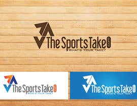 #71 untuk Logo Design for TheSportsTake.com GUARANTEED PAYOUT oleh thesunstudio