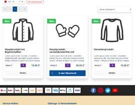 #31 for Build a CSS shop design by satec25