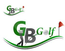 nº 1 pour Logo Design for GB Golfer par ouit