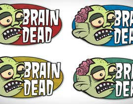 #20 para Logo Design for brain dead por Mrichings