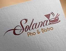 Nro 32 kilpailuun Design a Logo for Solana Pho & Bistro käyttäjältä dreamer509