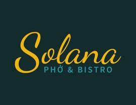 Nro 61 kilpailuun Design a Logo for Solana Pho & Bistro käyttäjältä cbarberiu