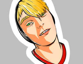 #6 , Head image to graffiti style caricature. 来自 JackVeda