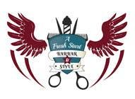 """Graphic Design Intrarea #18 pentru concursul """"Design a Badge/Logo for Barbershop"""""""