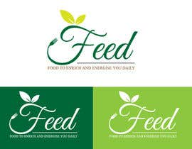 #91 για Design a Logo for 'FEED' - a new food brand and healthy takeaway store από neerajvrma87