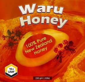 #40 for Waru Honey label by msdvenkat