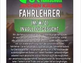 #6 für Poster for job advertisement for a driving school von milanlazic