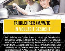 #3 für Poster for job advertisement for a driving school von perrysolanki