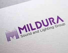 #23 para Design a Logo for Mildura Sound and Lighting Group por ekaterynakat