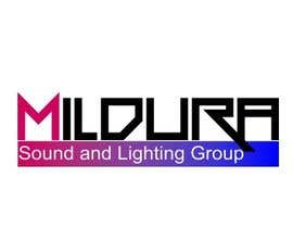 #28 para Design a Logo for Mildura Sound and Lighting Group por stoilova