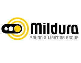 #22 para Design a Logo for Mildura Sound and Lighting Group por MishaMashina