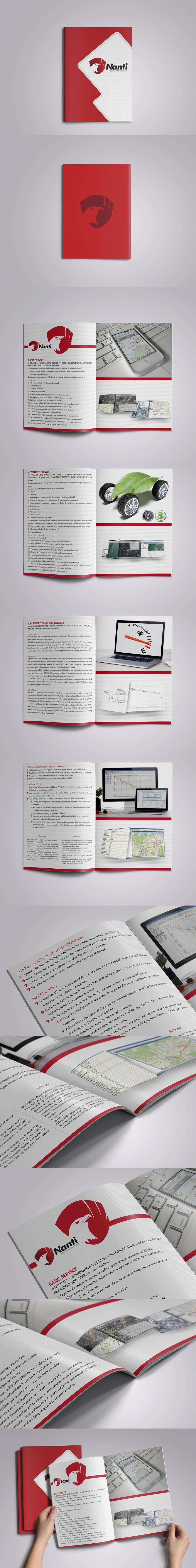 Inscrição nº 54 do Concurso para Brochure Design for Telematic Fleet Management System Company