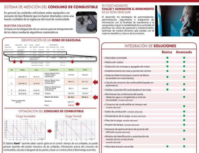 Inscrição nº 58 do Concurso para Brochure Design for Telematic Fleet Management System Company