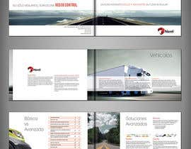 #57 for Brochure Design for Telematic Fleet Management System Company af DarkoMihajlovic