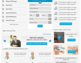 #4 för Design a Website Mockup for a Clinic av babu4u71