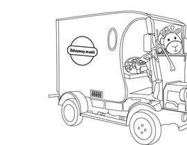 #21 för Illistrate a cartoon version of our promo car - Kids Colouring in Competition av davidnssalvatore