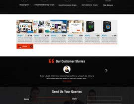 #24 för Design a Website Mockup for appkodes.com av greenarrowinfo