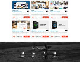 #29 för Design a Website Mockup for appkodes.com av nikil02an