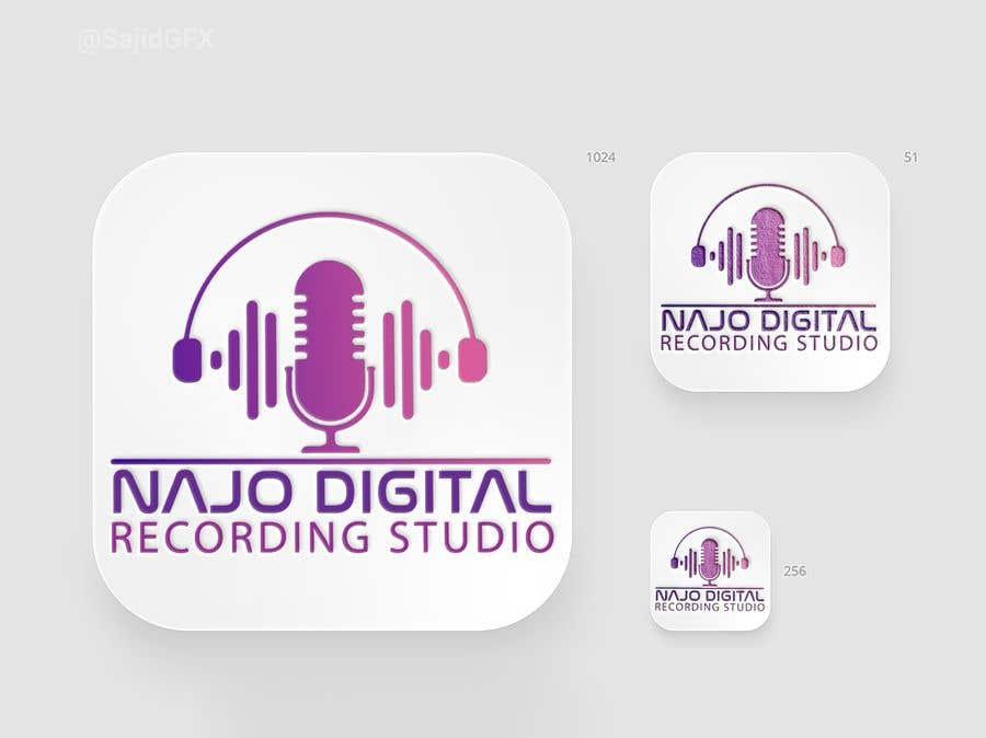 Kilpailutyö #                                        4                                      kilpailussa                                         I need a logo designed for Digital recording studio